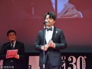 段奕宏获得东京电影节最佳男演员 赵薇为其颁奖