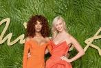当地时间12月4日,英国时尚奖在伦敦举行