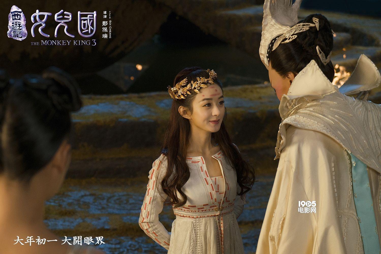 赵丽颖   显示 华语特效第一神鹿华丽登场 比《奇幻森林》更懂人情