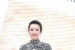 章子怡黑白长裙惊艳亮相 获封年度致敬沙龙网上娱乐工作者
