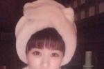 赵丽颖戴毛毛帽深夜自拍 拍落水戏冻到令人心疼