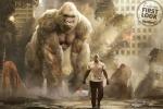 《狂暴》全新预告 巨石强森联手猩猩拯救世界