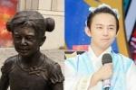 再现撞脸雕像 何炅被上交给神秘雕像组织了?
