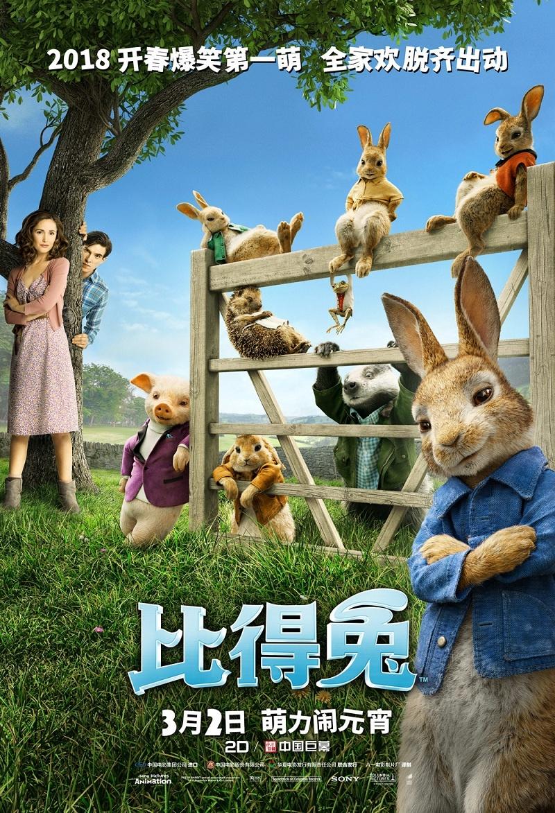 澳门威尼斯人官网:《比得兔》破亿!强迫症剧组打造爆笑解压神作