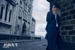 王凯首登《时尚先生》封面 慵懒邂逅巴黎的浪漫