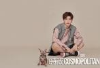 近日,范丞丞登上《时尚COSMO》的内页大片公开。