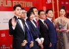 上海电影节红毯星光璀璨 李易峰、张智霖男神云集