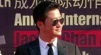 吴京亮相成龙电影周红毯 曝身体不佳但正在用心筹备《战狼3》