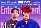 时隔54年回归的电影《欢乐满人间2》登上《娱乐周刊》封面,并曝光多张剧照和片场照,艾米莉·布朗特、科林·费斯、梅丽尔·斯特里普等演员现身。
