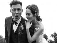 """""""六叔""""余文乐结婚一周年 娇妻晒迟到的婚礼照"""