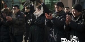 马丽章宇将合作《东北虎》!与大狗合影表情微妙