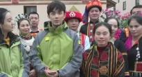 吴磊为海南白沙实力代言:欢迎来白沙感受黎族文化