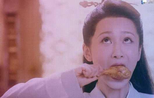 杨紫新剧中被质疑假吃?网友:放大看一