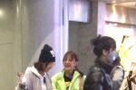 谢娜章子怡风波后现身机场 照常录制综艺相谈甚欢