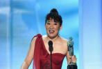 当地时间1月27日晚,第25届演员工会奖在洛杉矶举办。由专业人士评选出的各大工会奖被视为奥斯卡的重要风向标,演员工会奖涵盖电视电影两个领域,在演员奖项上对与奥斯卡表演奖项重合度不小。演员工会奖自1995年开始颁发,由全体会员从入围作品中投票选出获奖作品,是金球奖之后,奥斯卡前瞻的最重要奖项。