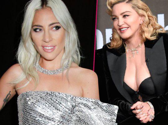 麦当娜奥斯卡派对邀LadyGaga 龃龉多年有望和解?