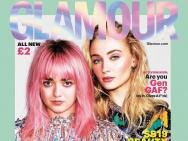 三傻二丫登英國雜志封面 彩色頭發極具迷幻未來感