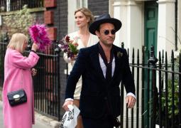 裘德·洛与心理大夫女友娶亲!伦敦低调举办婚礼
