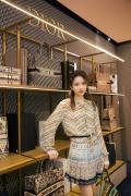 张慧雯上海出席品牌活动 轻盈优雅绽放初夏浪漫