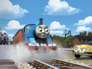 《托马斯大电影》发新剧照 火车行驶失控命悬一线