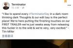 《终结者:黑暗命运》曝工作照 汉密尔顿秀火箭筒
