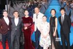 《哥斯拉2》日本举行首映礼 章子怡美艳成焦点