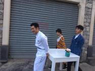 黃曉明王俊凱楊紫加盟《中餐廳3》 異國街頭攤煎餅