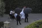 """""""星爵""""与施瓦辛格女儿结婚 凯瑟琳身穿婚纱超美"""