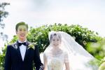 張若昀唐藝昕婚禮現場照 合跳雙人舞夢幻似童話