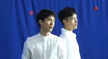 《星辰大海》MV拍摄现场 刘昊然、陈飞宇帅气白衬衣亮相