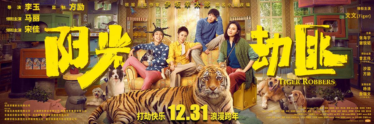 """《阳光劫匪》定档12月31日 马丽宋佳奇幻""""寻虎"""""""