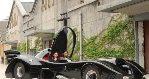 周杰伦出手六千万打造蝙蝠车 只能看不能开 图图片