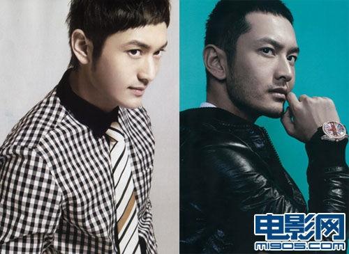 黄晓明曾受香港高端刊物邀请拍摄写真,这套络腮胡短发造型英气十足.图片