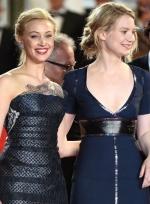 《星图》戛纳首映礼 主创齐现身法国女星露半球