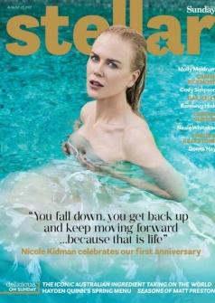 妮可·基德曼杂志全新写真 状态极佳宛如人鱼公主