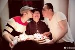 黄晓明为妈妈庆祝66岁生日 一家人团聚幸福满满