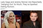 Lady Gaga與鷹眼曖昧? 兩人處在有意交往初期