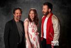 """近日,在举办了《复仇者联盟4》的88亚洲城娱乐发布会之后,复联成员们又拍摄了一组写真,""""惊奇队长""""布丽·拉尔森、""""雷神""""克里斯·海姆斯沃斯、""""黑寡妇""""斯嘉丽·约翰逊、""""美队""""克里斯·埃文斯等被分成了二人或是三人组进行拍摄。"""