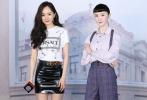 6月24日,杨幂现身上海出席蜡像揭幕活动。当天,杨幂简约印花白T搭漆皮短裙,配金属腰带;微卷披肩长发,红唇雪肤,摩登又时尚。
