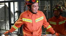 """杜江體驗消防救援訓練 大呼""""像得救了一樣,爬到最后很絕望"""""""