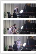 郎朗和妻子給孩子們上鋼琴課 俯身指導親和力十足