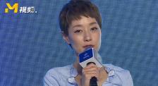 馬伊琍紫衣白裙淡雅清新 透露9月份會有一部新戲播出