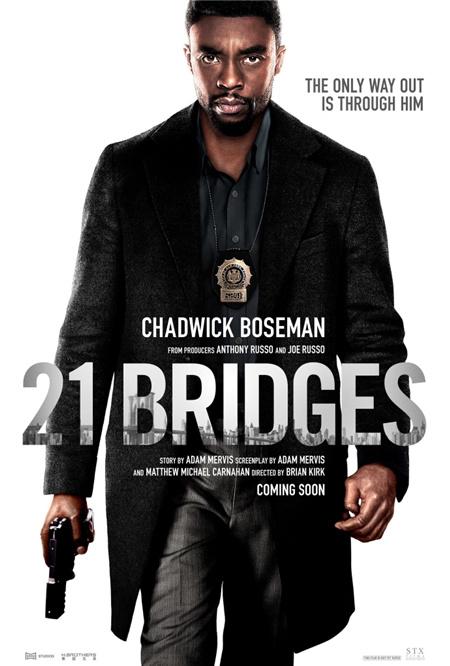 黑豹变警官!?#24230;?#28216;》导演新片《21座桥》曝海报