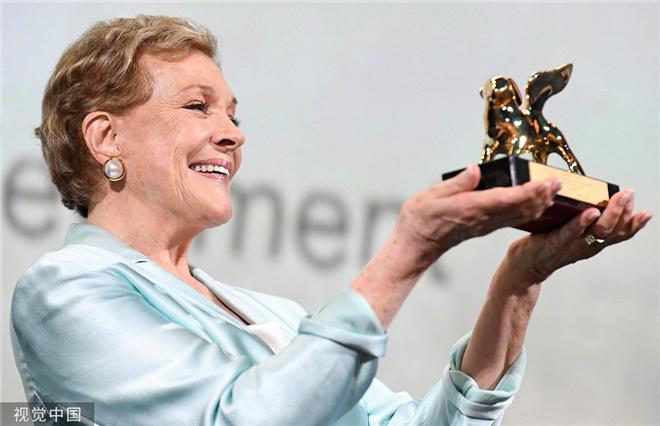 再获殊荣!《音乐之声》女主获威尼斯终身成就奖