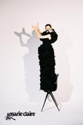 Angelababy复古大片曝光 演绎好莱坞经典造型