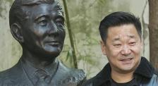薪火相傳!王景春捐贈趙丹先生銅像落成揭幕儀式