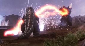 外星怪物入侵地球,却被地球怪物打爆,一部科幻动作片