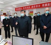 習近平︰堅決打贏疫情防控的人民戰爭總體戰阻擊戰