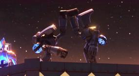 两个铲煤机器人不想干活,竟一起私奔,一部搞笑科幻片