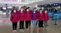 新疆喀什援鄂医疗队撤离武汉 机场告白武汉人民深情满满